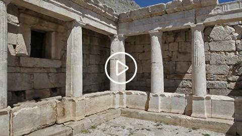 Önemli anıtlar 5: Geç Helenistik Çeşme